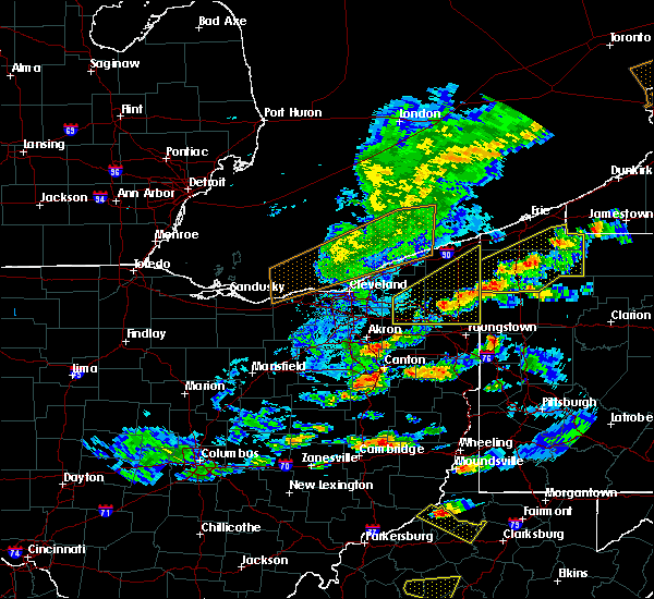 Radar Image for Severe Thunderstorms near Girard, OH at 5/25/2019 6:12 PM EDT