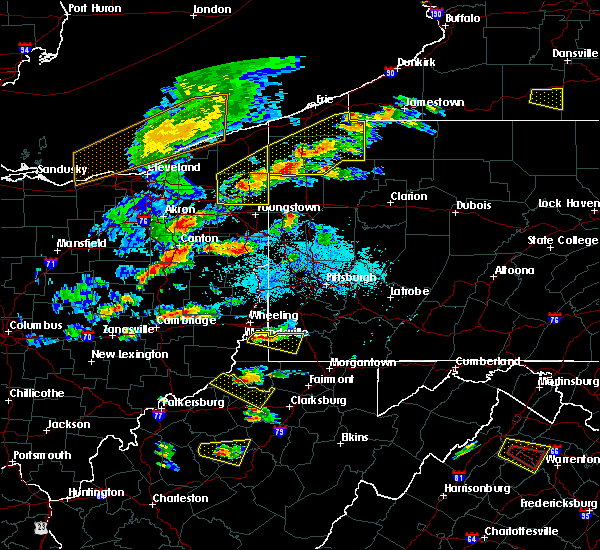 Radar Image for Severe Thunderstorms near Rogersville, PA at 5/25/2019 6:17 PM EDT