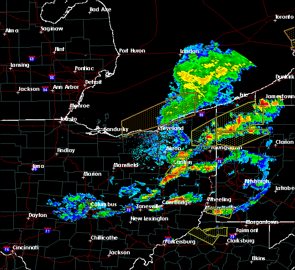Radar Image for Severe Thunderstorms near Cortland, OH at 5/25/2019 6:28 PM EDT