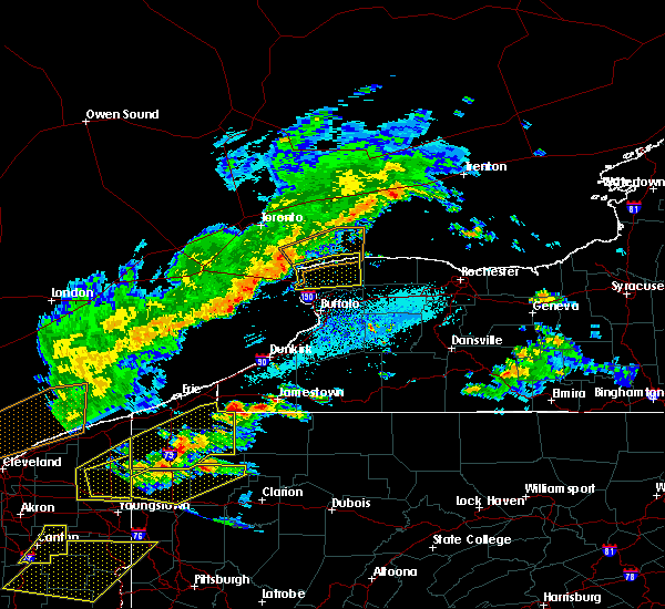 Radar Image for Severe Thunderstorms near Panama, NY at 5/25/2019 6:31 PM EDT