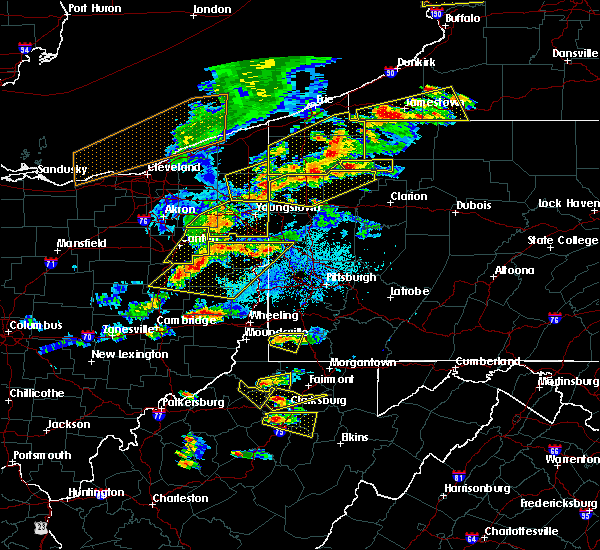 Radar Image for Severe Thunderstorms near Calcutta, OH at 5/25/2019 6:44 PM EDT