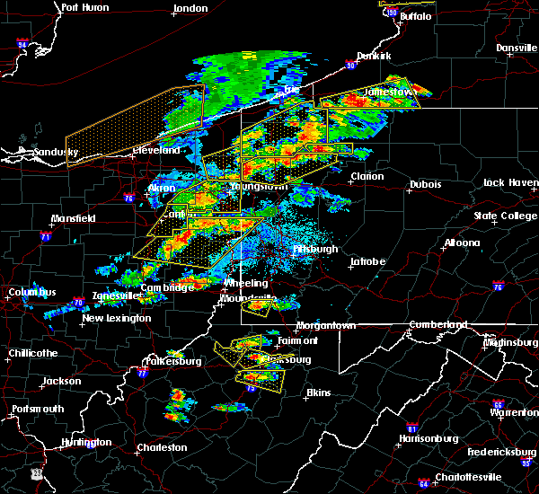 Radar Image for Severe Thunderstorms near Calcutta, OH at 5/25/2019 6:45 PM EDT