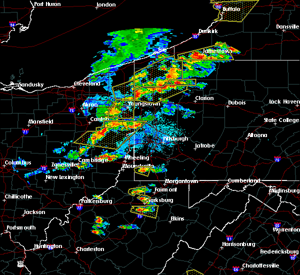 Radar Image for Severe Thunderstorms near Girard, OH at 5/25/2019 6:52 PM EDT