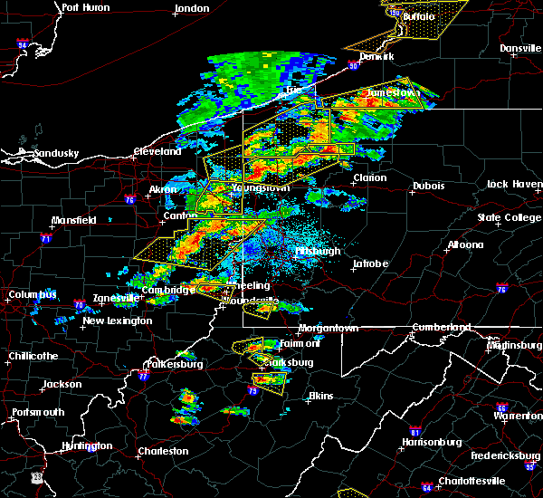 Radar Image for Severe Thunderstorms near Neffs, OH at 5/25/2019 6:52 PM EDT