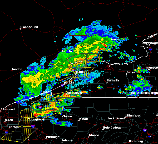 Radar Image for Severe Thunderstorms near Salamanca, NY at 5/25/2019 6:53 PM EDT
