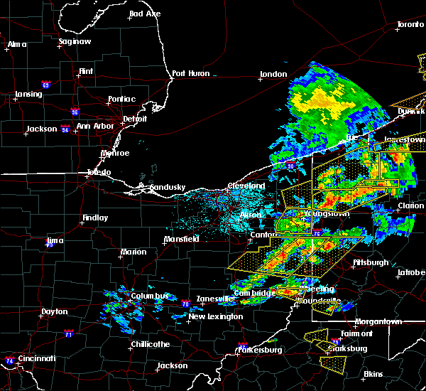 Radar Image for Severe Thunderstorms near Cortland, OH at 5/25/2019 6:58 PM EDT