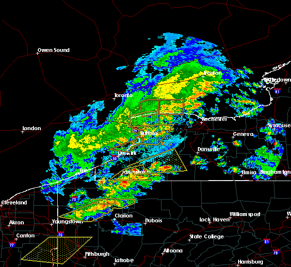 Radar Image for Severe Thunderstorms near Houghton, NY at 5/25/2019 7:12 PM EDT