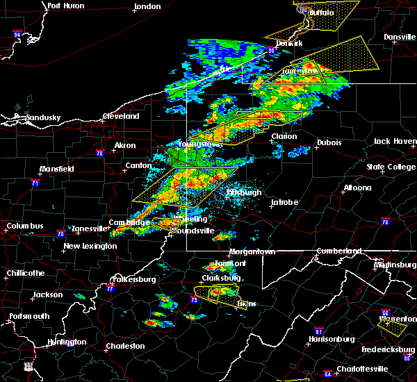 Radar Image for Severe Thunderstorms near Century, WV at 5/25/2019 7:13 PM EDT