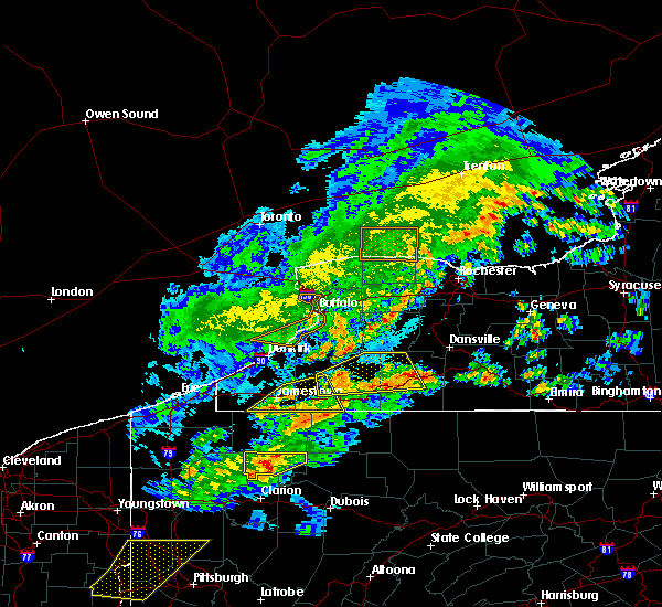 Radar Image for Severe Thunderstorms near Lima, NY at 5/25/2019 7:32 PM EDT