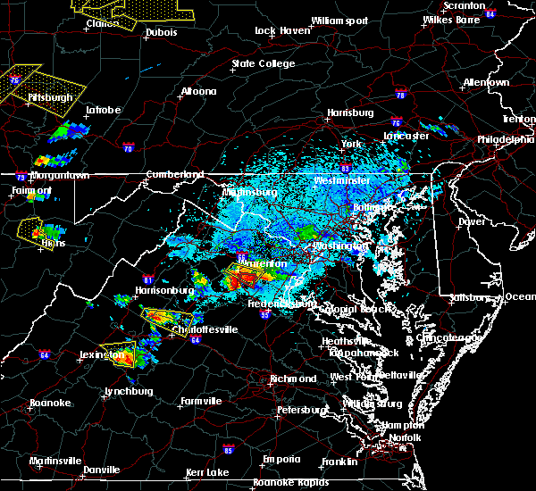 Radar Image for Severe Thunderstorms near Calverton, VA at 5/25/2019 7:44 PM EDT