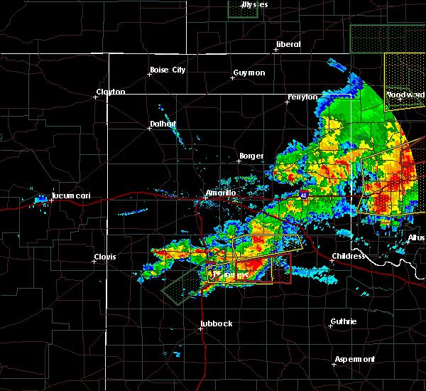 Radar Image for Severe Thunderstorms near Dimmitt, TX at 5/25/2019 6:48 PM CDT