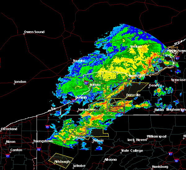 Radar Image for Severe Thunderstorms near Honeoye Falls, NY at 5/25/2019 7:52 PM EDT