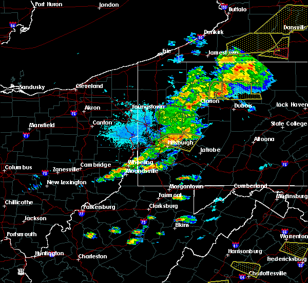 Radar Image for Severe Thunderstorms near New Kensington, PA at 5/25/2019 7:57 PM EDT