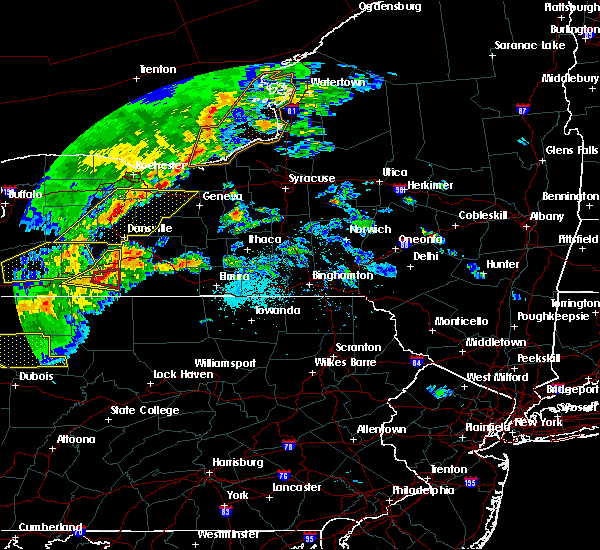 Radar Image for Severe Thunderstorms near Coopers Plains, NY at 5/25/2019 7:58 PM EDT