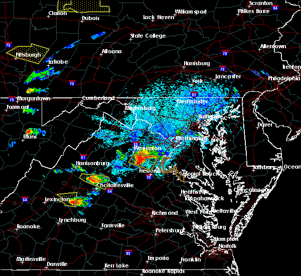 Radar Image for Severe Thunderstorms near Hollymead, VA at 5/25/2019 7:59 PM EDT