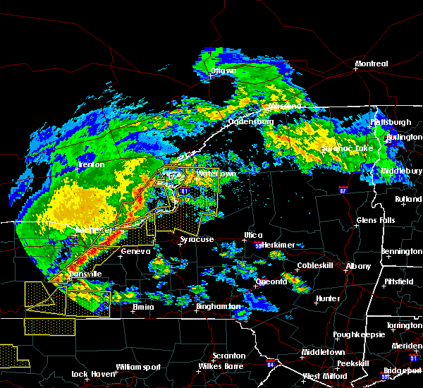 Radar Image for Severe Thunderstorms near Brewerton, NY at 5/25/2019 8:11 PM EDT
