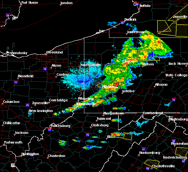 Radar Image for Severe Thunderstorms near Kiskimere, PA at 5/25/2019 8:15 PM EDT