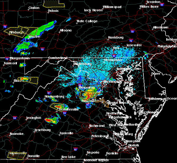 Radar Image for Severe Thunderstorms near Quantico Base, VA at 5/25/2019 8:17 PM EDT