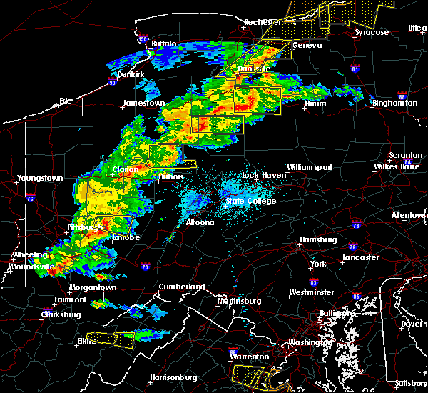 Radar Image for Severe Thunderstorms near Kersey, PA at 5/25/2019 8:22 PM EDT