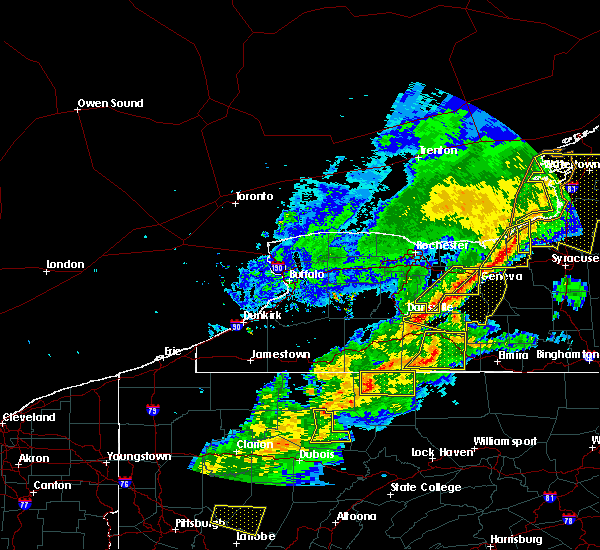 Radar Image for Severe Thunderstorms near Honeoye, NY at 5/25/2019 8:24 PM EDT