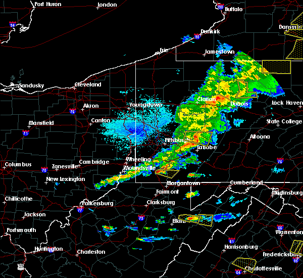 Radar Image for Severe Thunderstorms near Oliver, PA at 5/25/2019 8:25 PM EDT