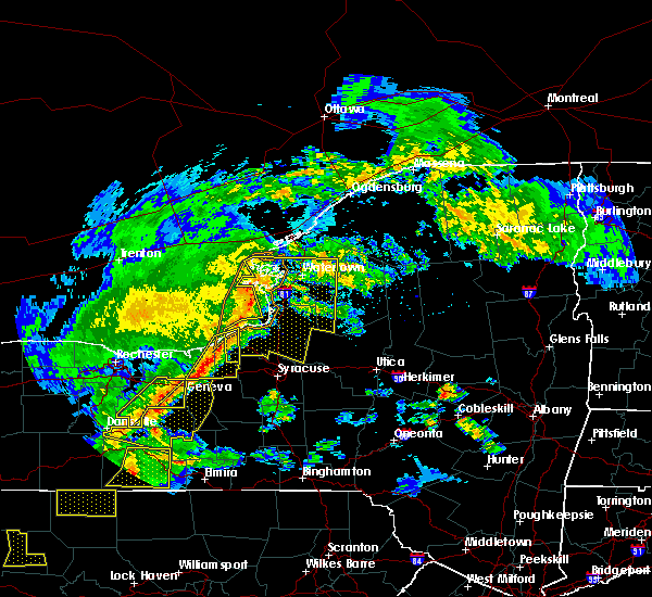Radar Image for Severe Thunderstorms near Clyde, NY at 5/25/2019 8:26 PM EDT