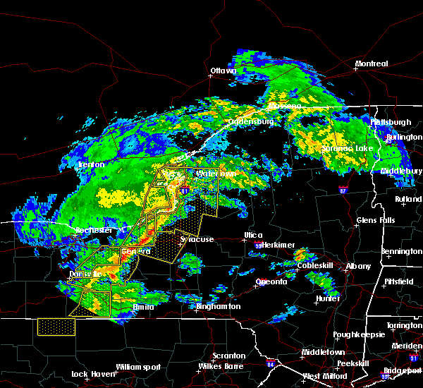 Radar Image for Severe Thunderstorms near Fairmount, NY at 5/25/2019 8:33 PM EDT