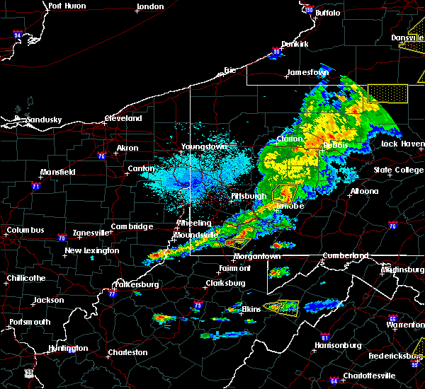 Radar Image for Severe Thunderstorms near Oliver, PA at 5/25/2019 8:37 PM EDT
