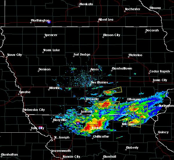 Radar Image for Severe Thunderstorms near Pulaski, IA at 5/25/2019 7:44 PM CDT