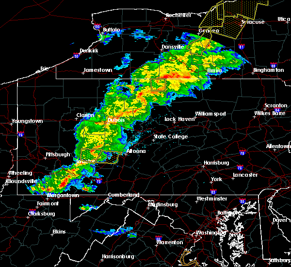 Radar Image for Severe Thunderstorms near Lilly, PA at 5/25/2019 8:49 PM EDT