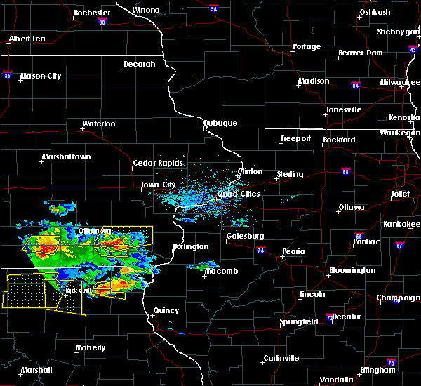 Radar Image for Severe Thunderstorms near Mount Union, IA at 5/25/2019 8:07 PM CDT