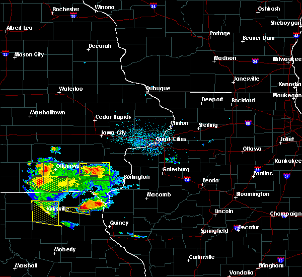 Radar Image for Severe Thunderstorms near Mount Union, IA at 5/25/2019 8:24 PM CDT