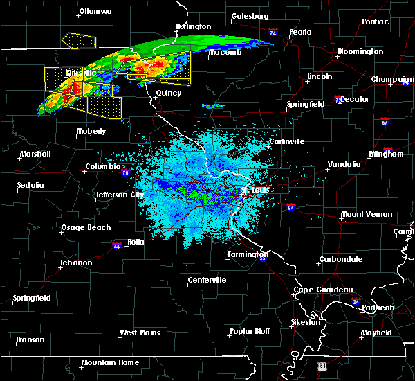 Radar Image for Severe Thunderstorms near Leonard, MO at 5/25/2019 8:53 PM CDT