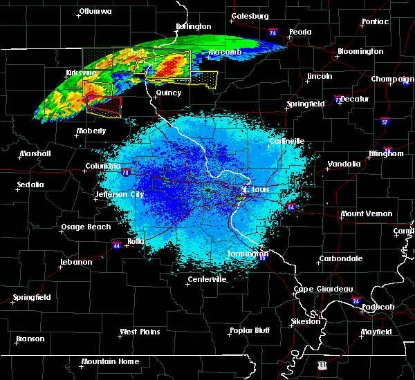 Radar Image for Severe Thunderstorms near Leonard, MO at 5/25/2019 9:18 PM CDT