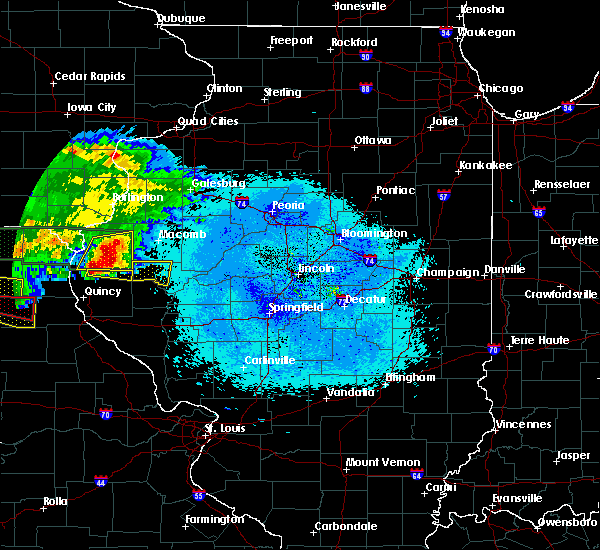 Radar Image for Severe Thunderstorms near Golden, IL at 5/25/2019 9:25 PM CDT