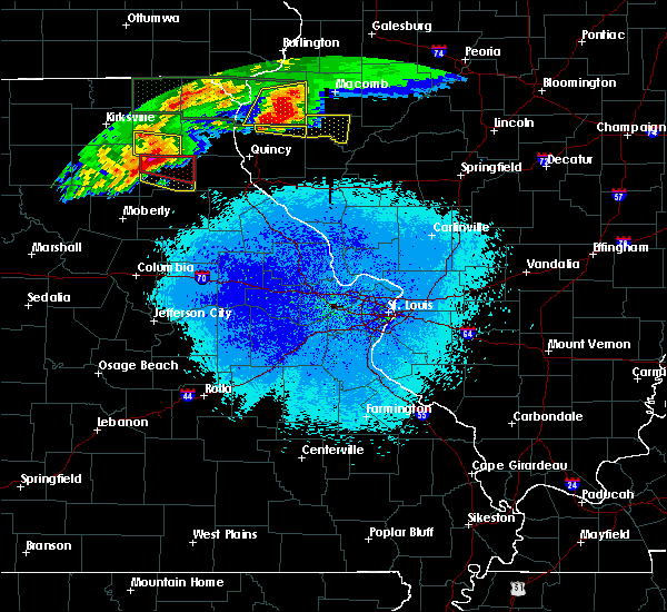 Radar Image for Severe Thunderstorms near Leonard, MO at 5/25/2019 9:27 PM CDT
