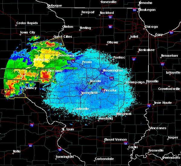 Radar Image for Severe Thunderstorms near Littleton, IL at 5/25/2019 10:00 PM CDT