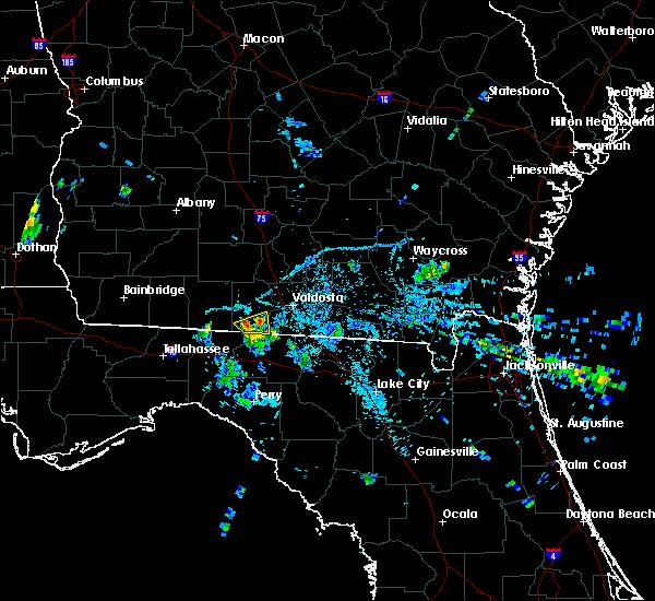 Radar Image for Severe Thunderstorms near Quitman, GA at 6/13/2015 8:43 PM EDT