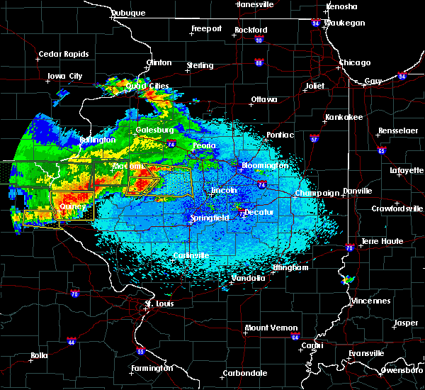 Radar Image for Severe Thunderstorms near Dunfermline, IL at 5/25/2019 10:43 PM CDT