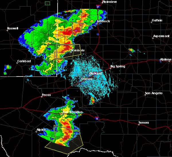 Radar Image for Severe Thunderstorms near Sanderson, TX at 6/13/2015 7:49 PM CDT