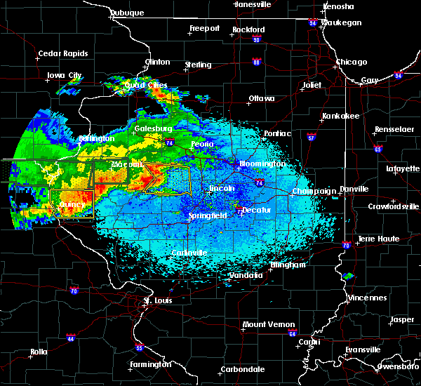 Radar Image for Severe Thunderstorms near Mound Station, IL at 5/25/2019 10:54 PM CDT