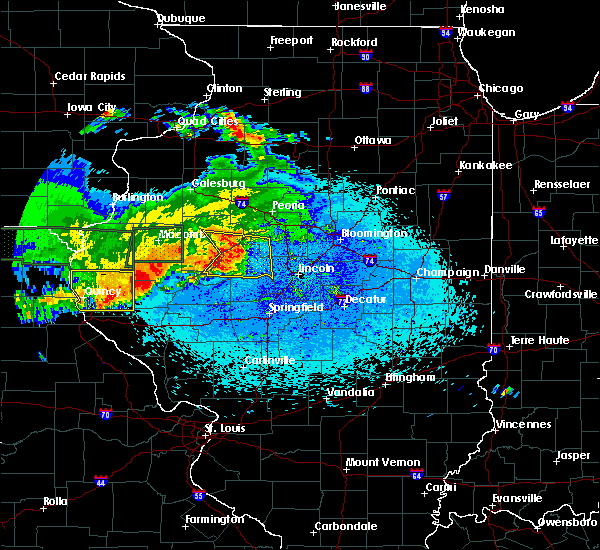Radar Image for Severe Thunderstorms near Liverpool, IL at 5/25/2019 11:03 PM CDT