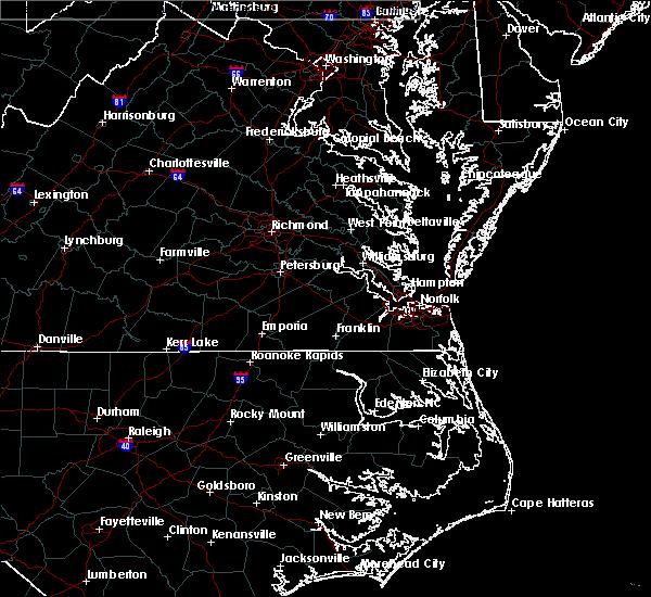 Radar Image for Severe Thunderstorms near McKenney, VA at 5/26/2019 12:24 AM EDT
