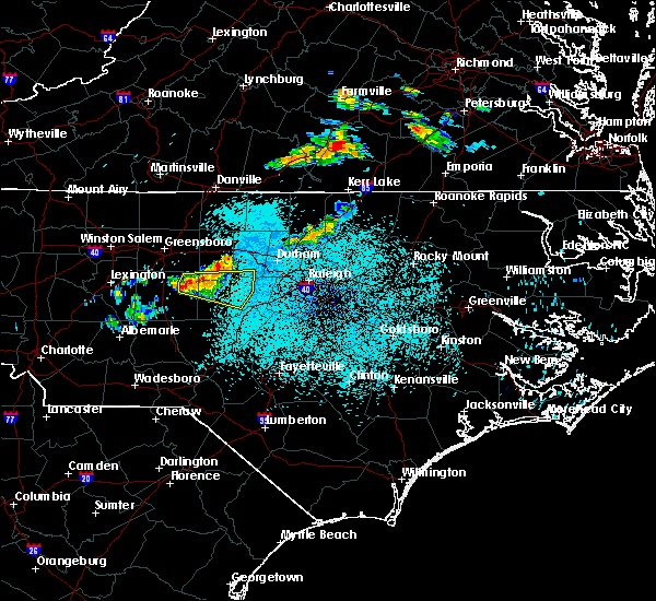 Radar Image for Severe Thunderstorms near Staley, NC at 5/26/2019 12:47 AM EDT