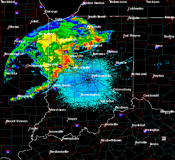 Radar Image for Severe Thunderstorms near New Market, IN at 5/26/2019 3:49 AM EDT