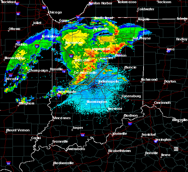 Radar Image for Severe Thunderstorms near Whitestown, IN at 5/26/2019 4:31 AM EDT