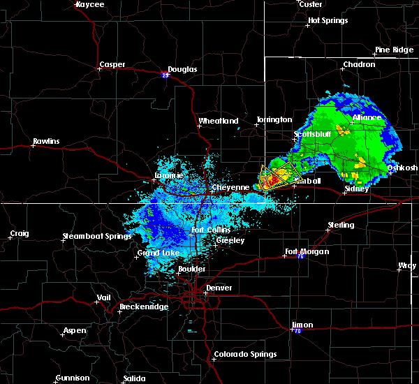 Radar Image for Severe Thunderstorms near Harrisburg, NE at 5/26/2019 3:28 AM MDT