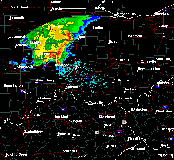Radar Image for Severe Thunderstorms near North Star, OH at 5/26/2019 5:56 AM EDT