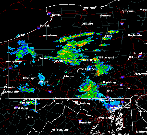 Radar Image for Severe Thunderstorms near Port Trevorton, PA at 5/26/2019 1:37 PM EDT