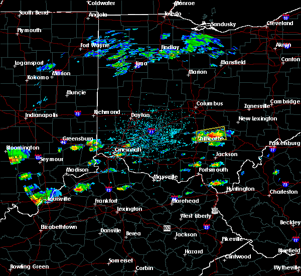Radar Image for Severe Thunderstorms near Logan, OH at 5/26/2019 2:05 PM EDT
